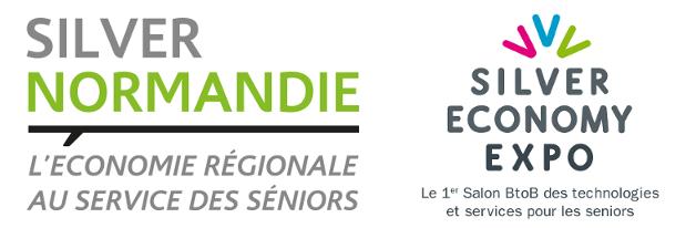 Logos Silver Normandie et Silver Economy Expo