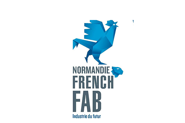 Logo Normandie French Fab Tour