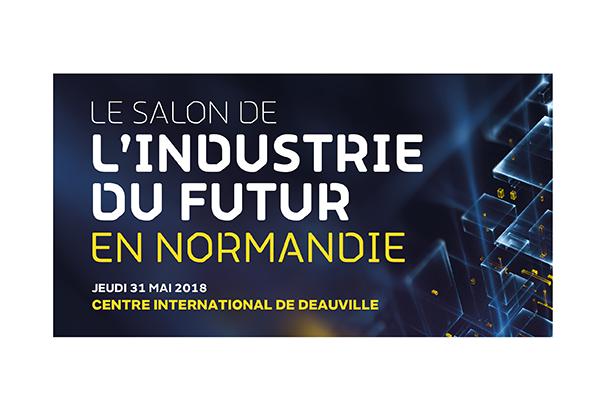 Visuel du salon de l'industrie du futur