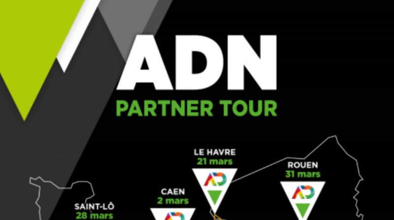 visuel carte ADN PARTNER TOUR