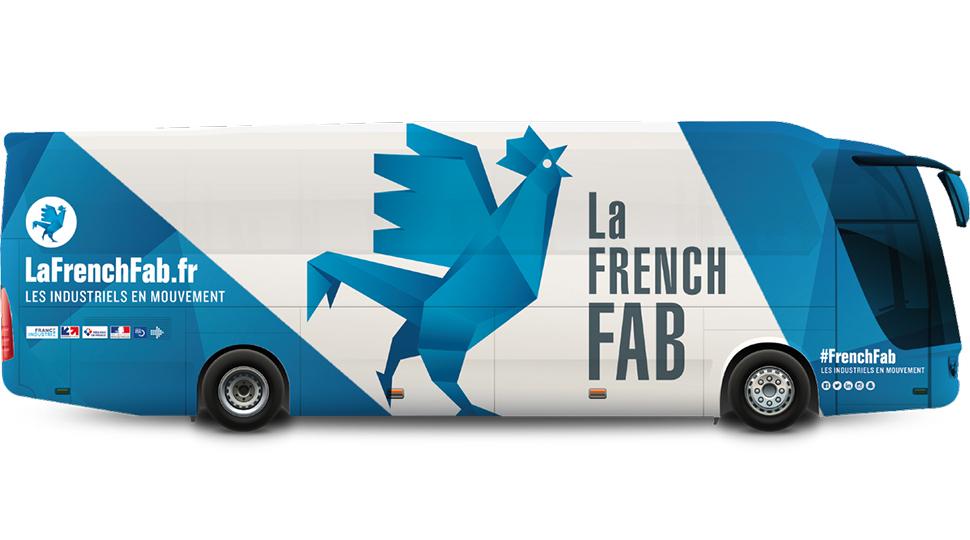 Visuel bus le French Fab Tour