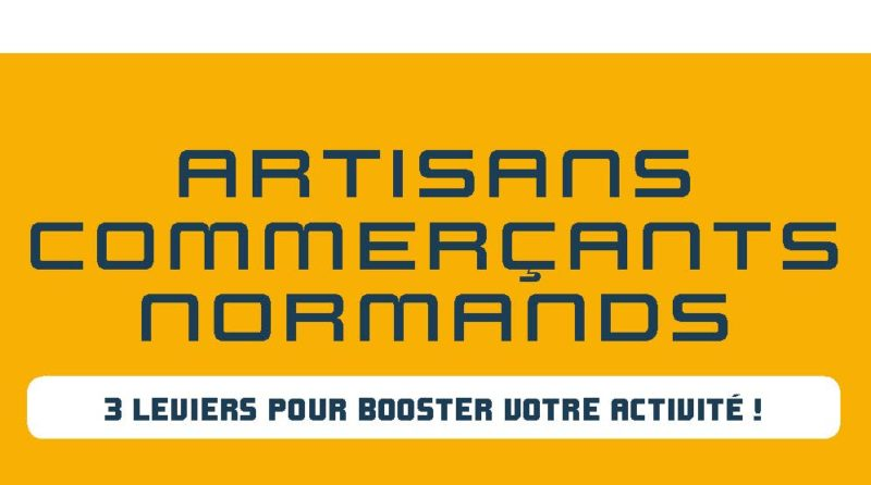 Visuel artisans commerçants normands