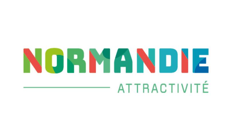 Logo normandie attractivité