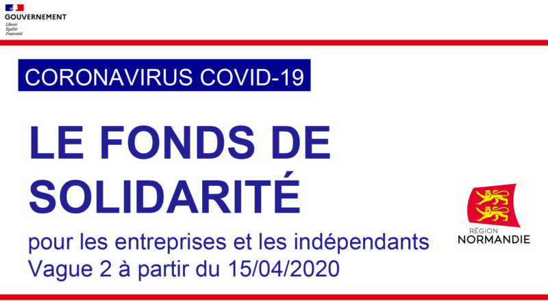 Communication Vague 2 du fonds de solidarité Covid-19